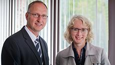 Ulrich Wloka und Eva Schuffenhauer