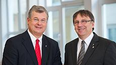 Michael Büchler und Matthias Fischer
