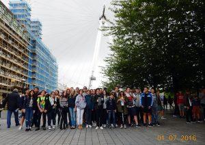 Sprachreise der Klasse 8 nach London