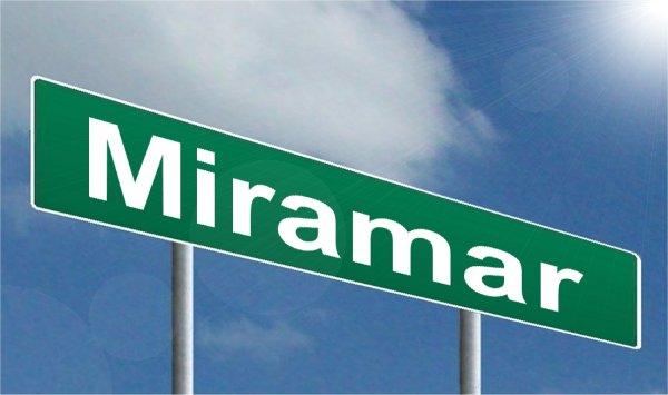 Miramar - nicht nur eine Stadt - sondern auch ein gerngesehenes Ausflugsziel
