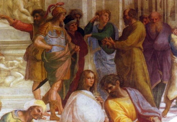 Sokrates im Dialog