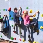 Die neue Boulder-Wand