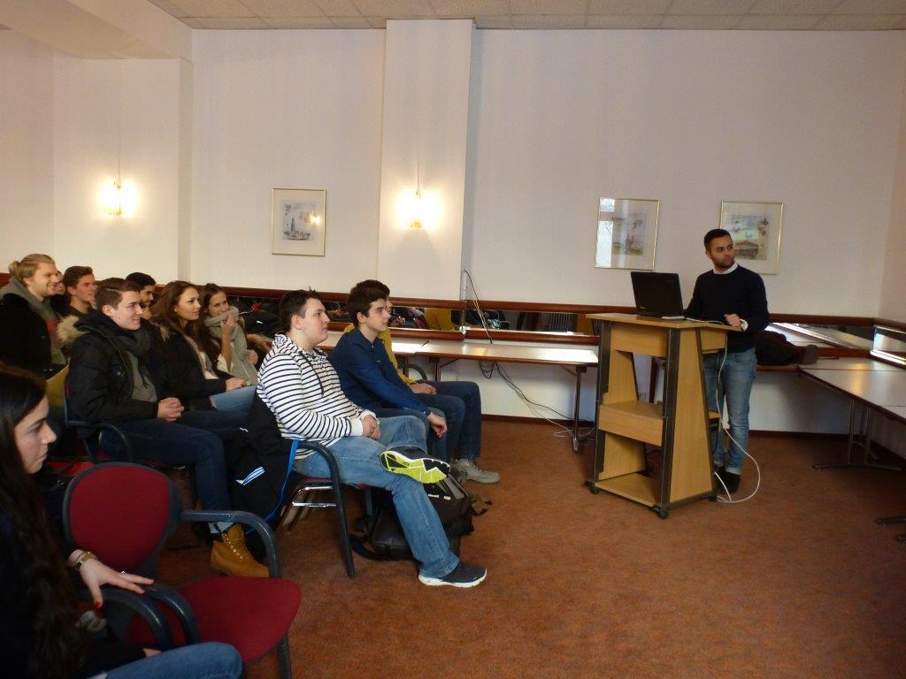 Vortrag über die Uni Mannheim